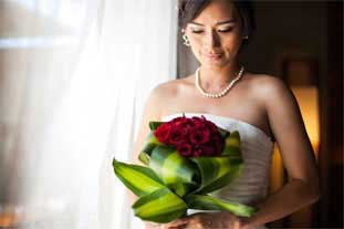 wedding dress and make up at the bale phnom penh